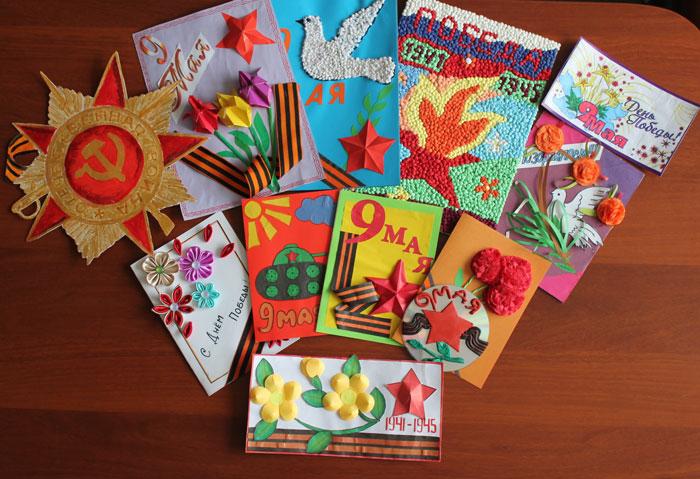 Годовщиной, открытки школьников ветеранам